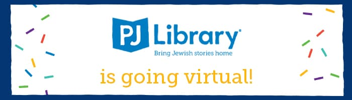 PJ Library is going Virtual!